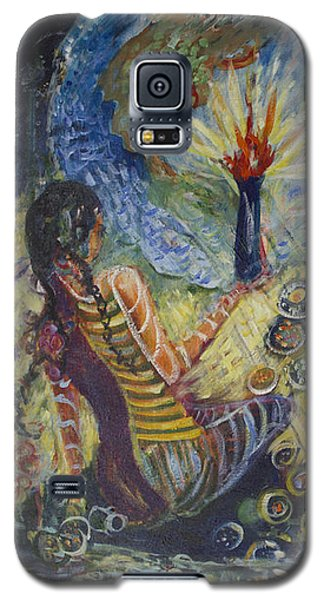 Avonelle's Tribe Galaxy S5 Case by Avonelle Kelsey