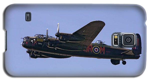 Avro 638 Lancaster At The Royal International Air Tattoo Galaxy S5 Case by Paul Fearn