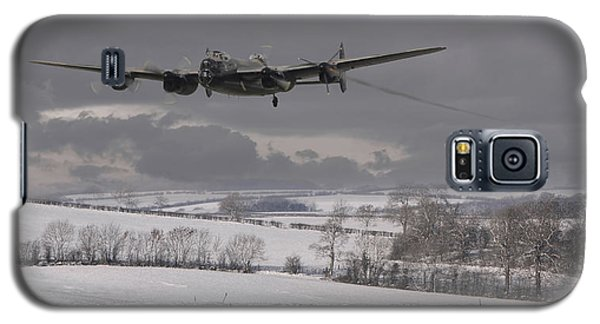 Avro Lancaster - Limping Home Galaxy S5 Case by Pat Speirs