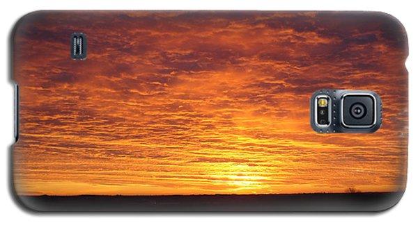 Galaxy S5 Case featuring the photograph Awaiting The Dawn by J L Zarek