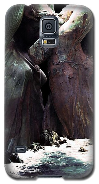Galaxy S5 Case featuring the photograph Awake By The Sea by Steve Godleski
