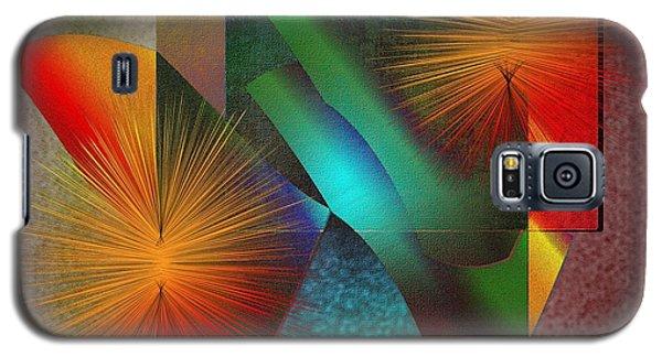 Galaxy S5 Case featuring the digital art Awake by Iris Gelbart