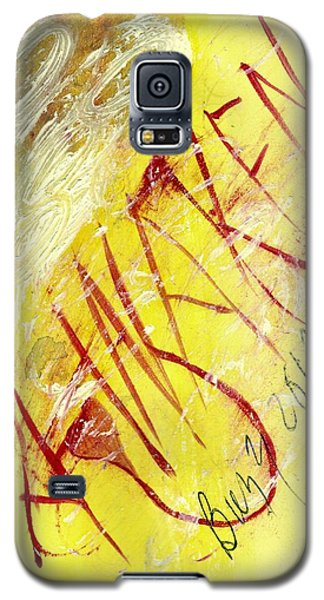 Galaxy S5 Case featuring the painting Awaken 2013 by Lesley Fletcher