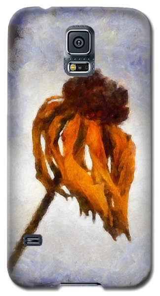 Galaxy S5 Case featuring the painting Awaken A New Life by Joe Misrasi