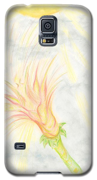 Galaxy S5 Case featuring the drawing Awakening by Kim Sy Ok