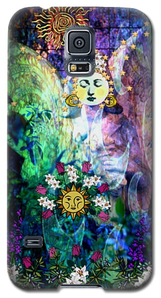 Galaxy S5 Case featuring the digital art Awakening by Mary Anne Ritchie