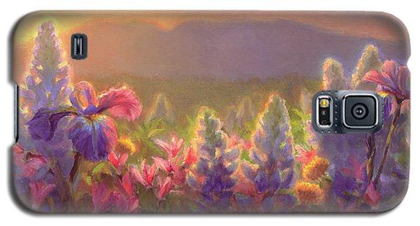 Awakening - Mt Susitna Spring - Sleeping Lady Galaxy S5 Case by Karen Whitworth