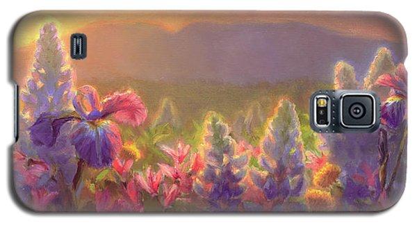 Awakening - Mt Susitna Spring - Sleeping Lady Galaxy S5 Case