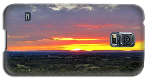 Galaxy S5 Case featuring the photograph Awesome Sunset by Becky Lupe