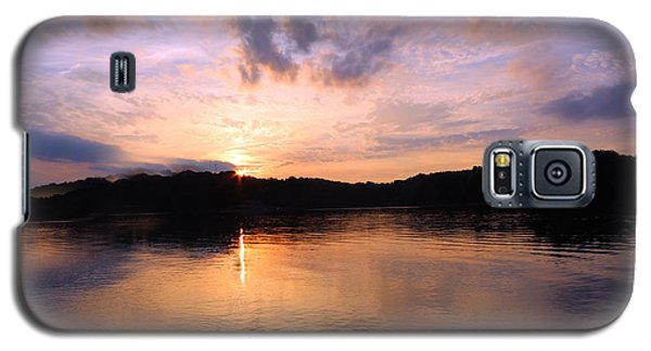 Galaxy S5 Case featuring the photograph Awesome Sunset by Lorna Rogers Photography