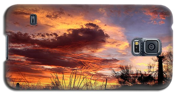 Az Monsoon Sunset Galaxy S5 Case by Elaine Malott