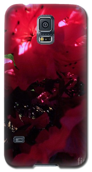 Galaxy S5 Case featuring the photograph Azalea Abstract by Robyn King