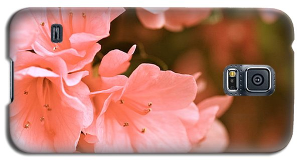 Galaxy S5 Case featuring the photograph Azalea Victorian by Cathy Dee Janes