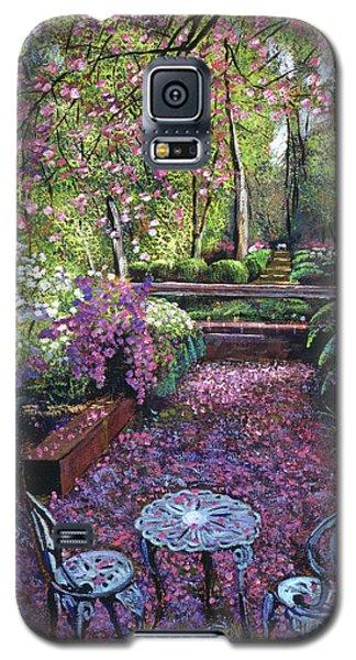 Azaleas And Cherry Blossoms Galaxy S5 Case