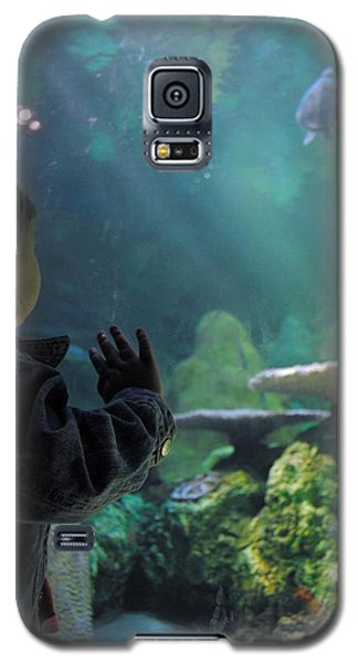 Galaxy S5 Case featuring the photograph Azlinn Turtle Tank by Amanda Eberly-Kudamik