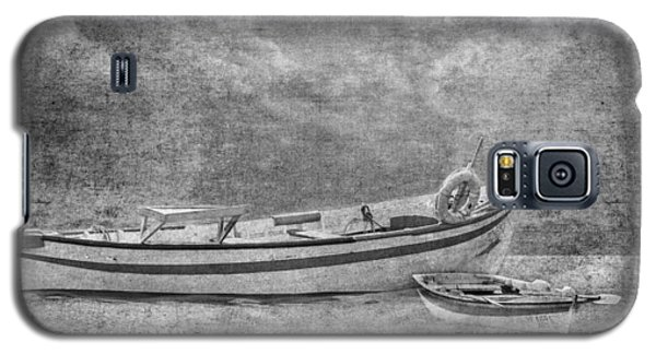 Azorean Fishing Boats B/w Galaxy S5 Case