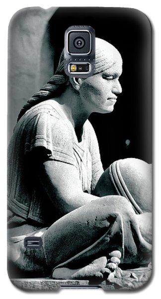 Aztec Woman Galaxy S5 Case by Bob Wall