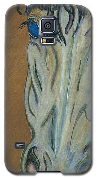 Galaxy S5 Case featuring the painting Azul by Ella Kaye Dickey