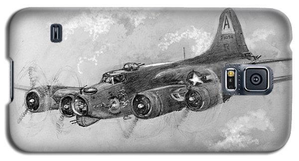 B-17 Flying Fortress Galaxy S5 Case by Jim Hubbard