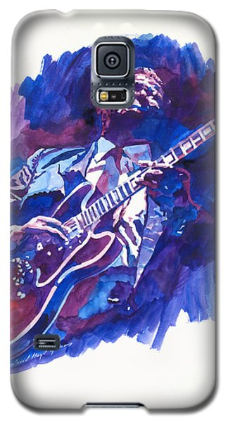 B. B. King Blue Galaxy S5 Case