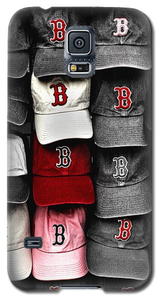 B For Bosox Galaxy S5 Case by Joann Vitali