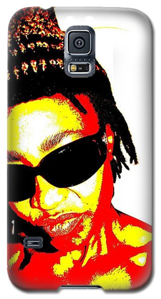 B Gyrl Galaxy S5 Case by Cleaster Cotton