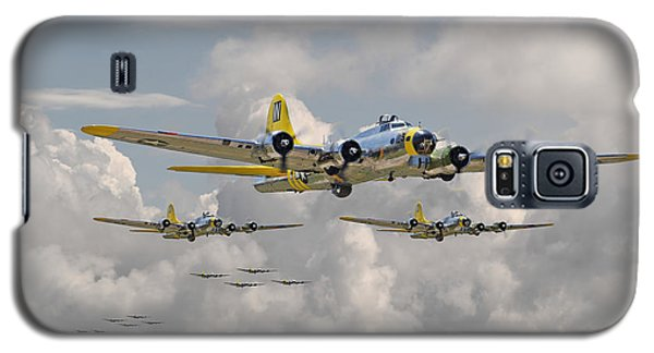 B17 486th Bomb Group Galaxy S5 Case by Pat Speirs