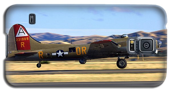 B17 Flying Fortress Departs Livermore Klvk Galaxy S5 Case