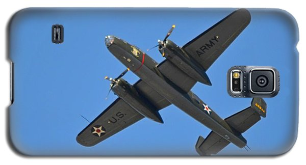 B25 Mitchell Wwii Bomber On 70th Anniversary Of Doolittle Raid Over Florida 21 April 2013 Galaxy S5 Case by Jeff at JSJ Photography