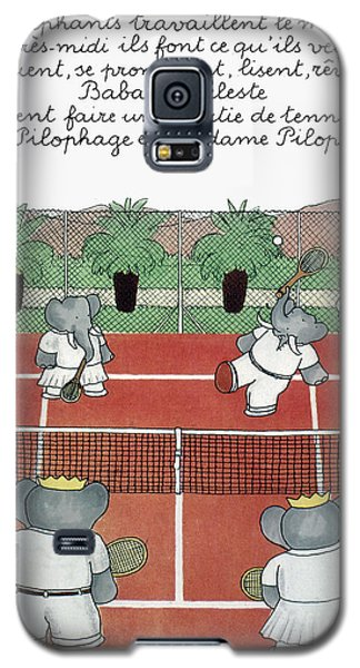 Babar The Elephant, 1930s Galaxy S5 Case