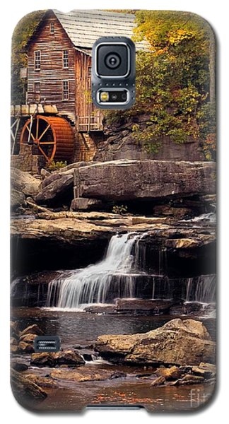 Galaxy S5 Case featuring the photograph Babcock Grist Mill And Falls by Jerry Fornarotto