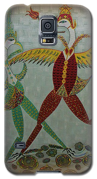Babe Let's Tango Galaxy S5 Case by Marie Schwarzer