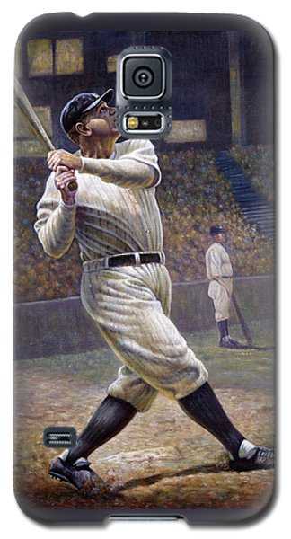 Babe Ruth Galaxy S5 Case - Babe Ruth by Gregory Perillo