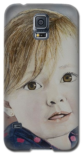 Baby A Galaxy S5 Case by Betty-Anne McDonald
