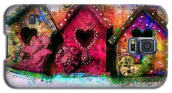 Baby Birdhouses Galaxy S5 Case