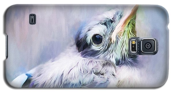 Baby Blue Jay Galaxy S5 Case by Darren Fisher