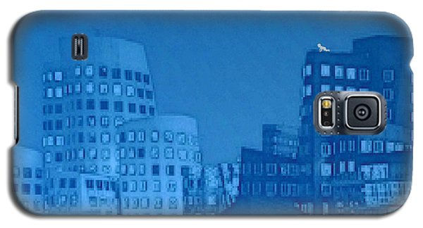 Galaxy S5 Case featuring the digital art Baby Blue by Mojo Mendiola