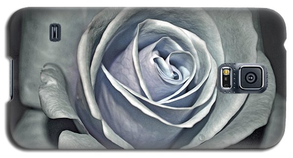 Galaxy S5 Case featuring the photograph Baby Blue Rose by Savannah Gibbs