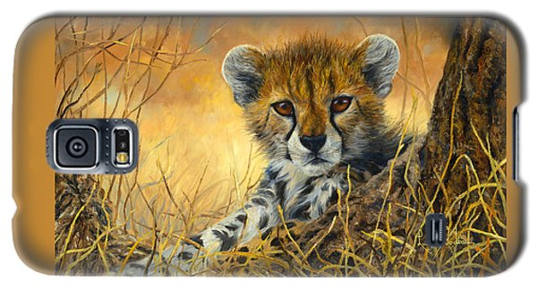 Baby Cheetah  Galaxy S5 Case