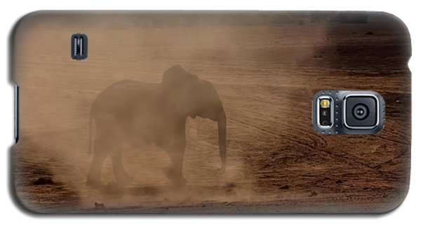 Galaxy S5 Case featuring the photograph Baby Elephant  by Amanda Stadther
