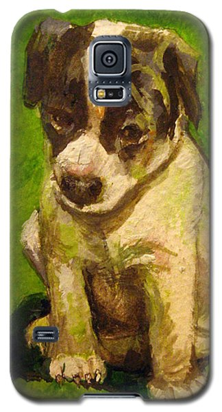 Baby Jack Russel Galaxy S5 Case