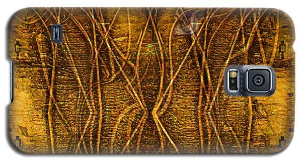 Galaxy S5 Case featuring the digital art Babylon By Rail by Mojo Mendiola