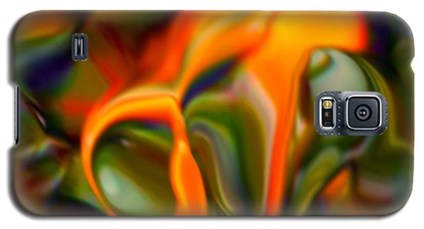 Galaxy S5 Case featuring the digital art Back At Cha by Gayle Price Thomas