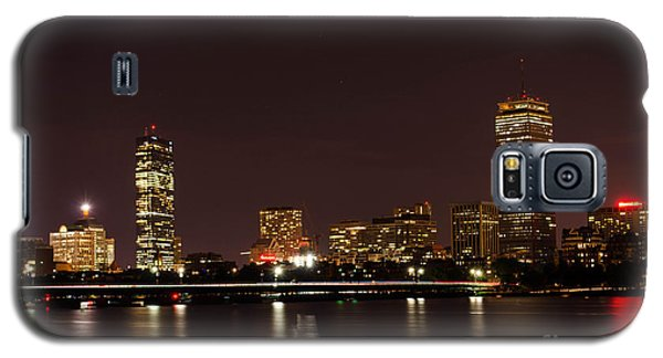 Galaxy S5 Case featuring the photograph Back Bay At Night by Mike Ste Marie