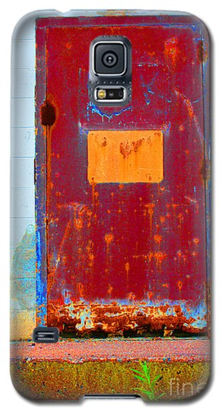Galaxy S5 Case featuring the photograph Back Door by Christiane Hellner-OBrien