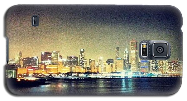 Skylines Galaxy S5 Case - Back In Chicago by Jill Tuinier
