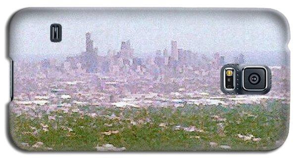 Skylines Galaxy S5 Case - Back In My City by Jill Tuinier
