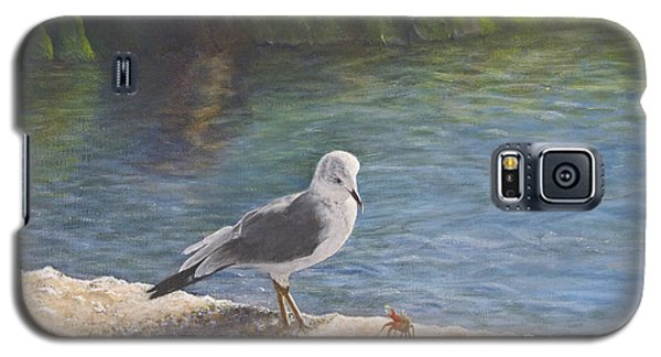 Seagull Galaxy S5 Case - Back Off by Cindy Lee Longhini