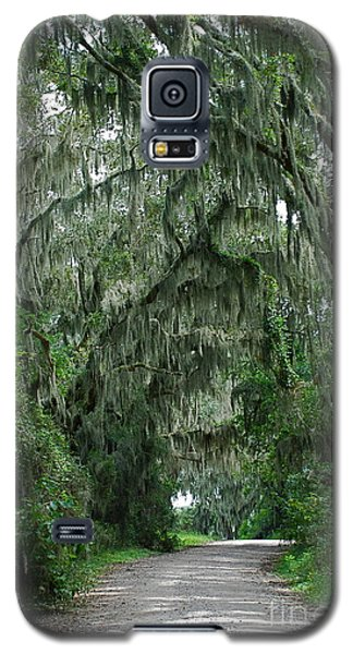 Galaxy S5 Case featuring the photograph Back Roads by Kathy Gibbons