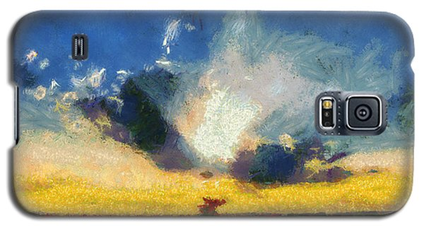 Galaxy S5 Case featuring the painting Back To Goodbye by Joe Misrasi